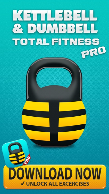 KettleBell & Dumbbell Workout PRO! - 5/7/10 Minute Weight Training Exercises