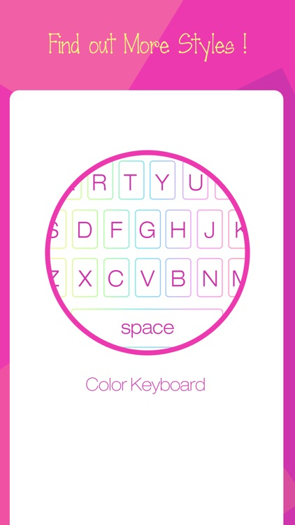 Color Keyboard for iOS 8 - Free Customize Emoji and Sticker Keyboards Skins & Background screenshot-4