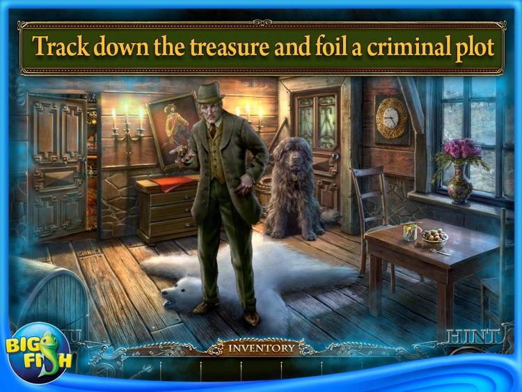 Edgar Allan Poe's The Gold Bug: Dark Tales HD - A Hidden Object Adventure screenshot-3