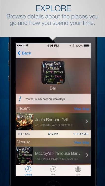 Saga – The Essential Lifelogging App
