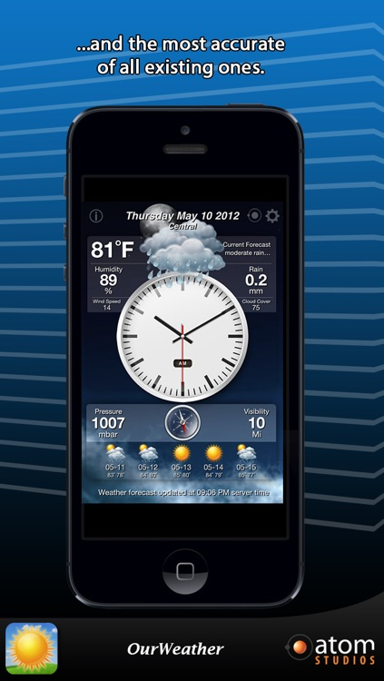 OurWeather - weather forecast made simple screenshot-1