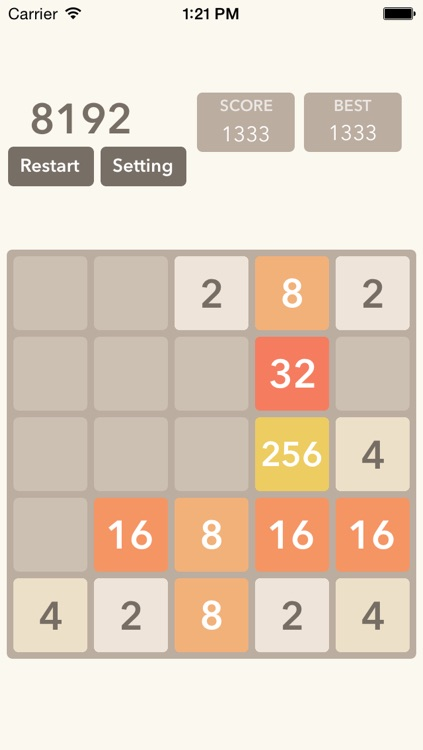 2048 Game With New Levels