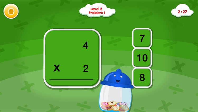 Smart Cookie Math Multiplication & Division Game! screenshot-4