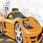 Действие Такси гонщик-Высокий автомобилей игры icon