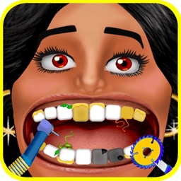 Celebrity Dentist - Tongue And Teeth Little Doctor Game For Kids, Boys And Girls