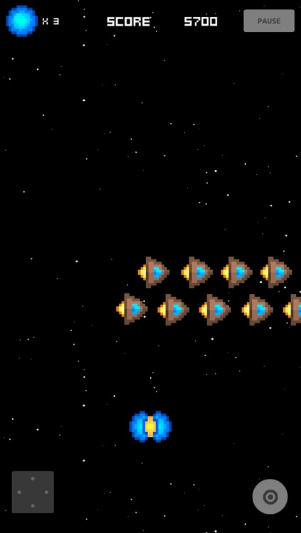 A Retro Space Invader Shooter Game screenshot-3