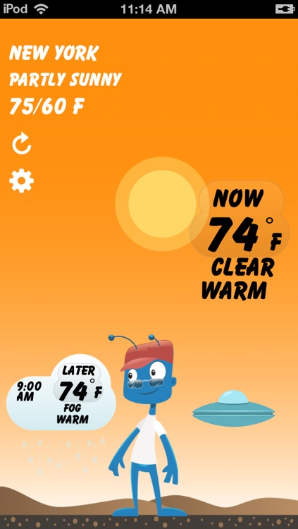 Weather Pal by Clear Day™ -  Free Live Weather Forecast