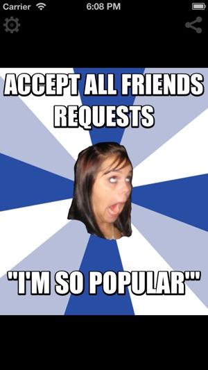 300x0w annoying girl meme generator on the app store
