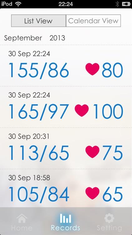Ssmart Blood Pressure Monitor screenshot-3