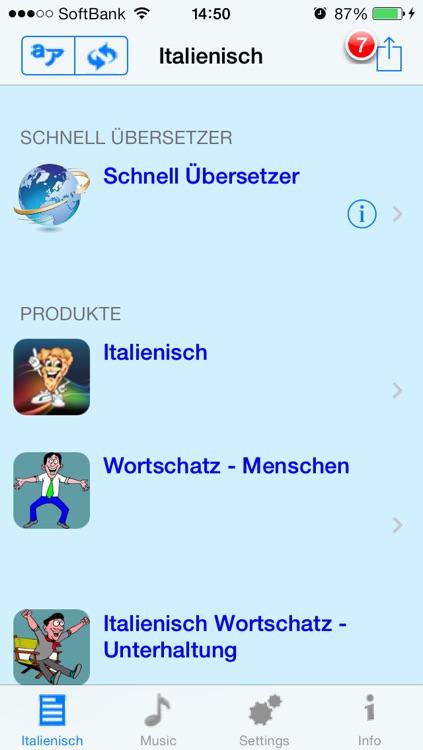 Italienisch - Talking German to Italian Phrasebook + Translator screenshot-4