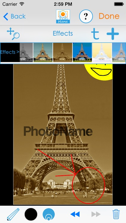 PhotoName plus : Add texts and captions to your pictures. screenshot-4
