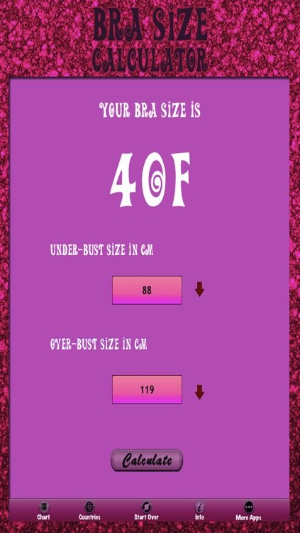 Bra Size Calculator screenshot-3