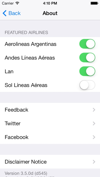 Argentina Flight screenshot-4