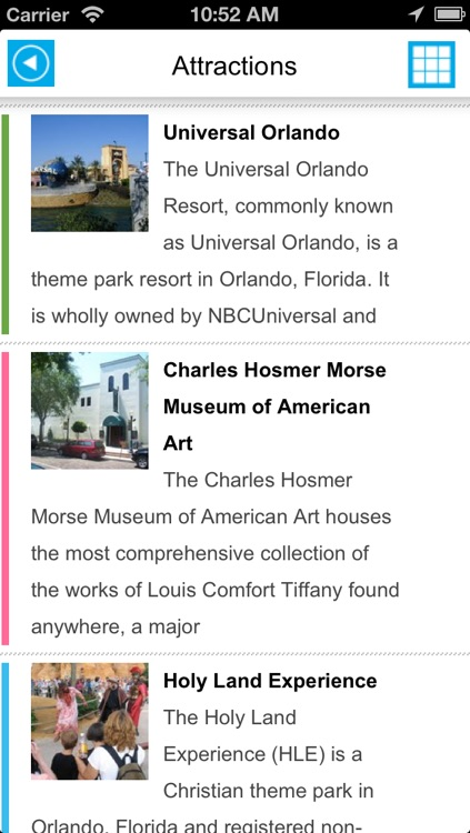 Orlando & Walt Disney World Resort offline map, guide, hotels screenshot-2