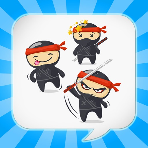 NinjaEmoji Pro: Send Ninja Themed Emoticons for Text + Messages