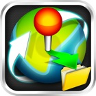 Location Manager Lite - Save, Share, Route, and Map all of your Favorite Locations! icon