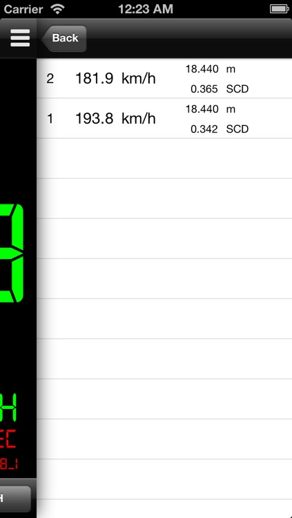 Simple Radar Gun screenshot-3