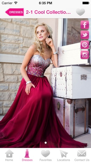 The 2014 Cool Book Showcase of Prom Dresses App on the App Store