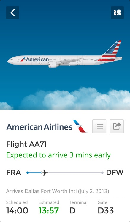 Flight Finder - Live Flight Status