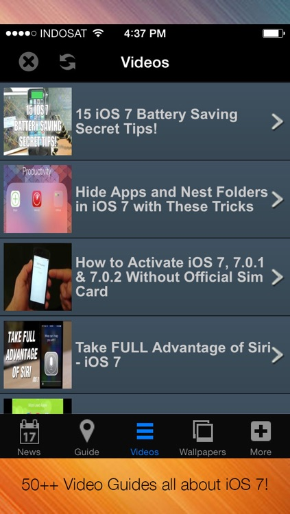 GUIDE 360 for iOS 7 & iPhone 5s Users - Guide, Tips & Tricks Videos, News ALL in ONE!