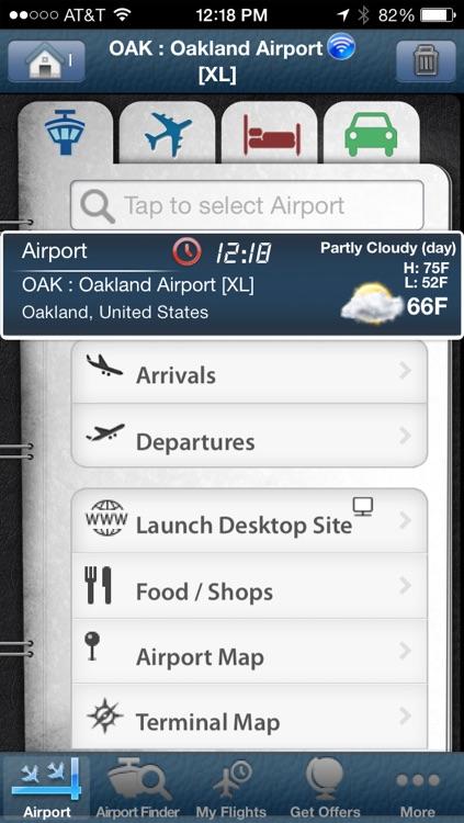 Oakland Airport info + Flight Tracker