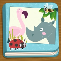 Animals Picture Book: Kids first words and Games