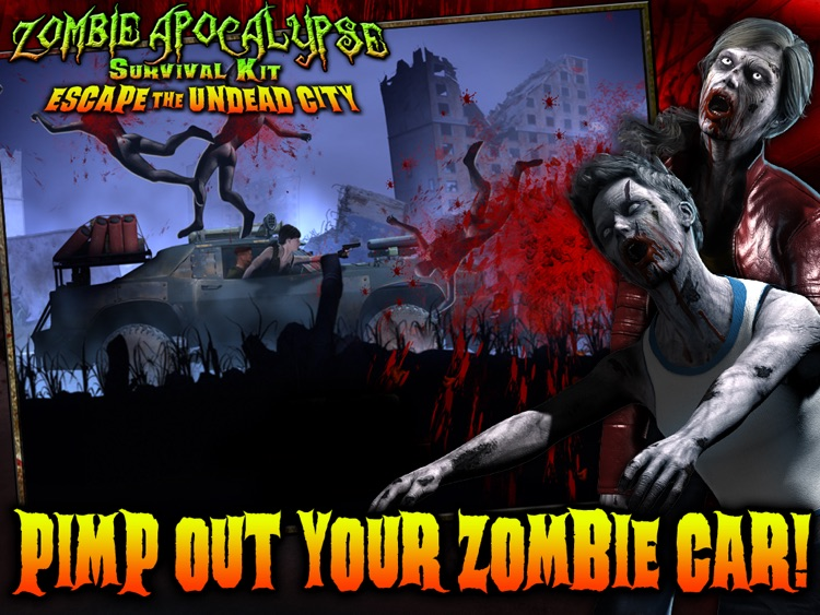 Zombie Apocalypse Survival Kit: Escape the Undead City HD screenshot-3