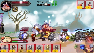 Viking Warrior vs Zombie Defense ACT TD - War of Chaos Silver Version 1.55 IOS