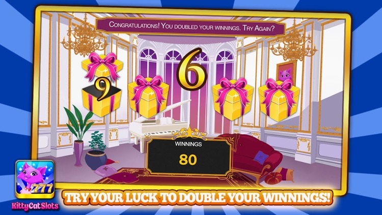Kitty Cat Slots™ – FREE Premium Casino Slot Machine Game screenshot-3