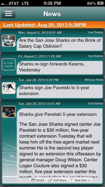 San Jose Hockey Live screenshot-3