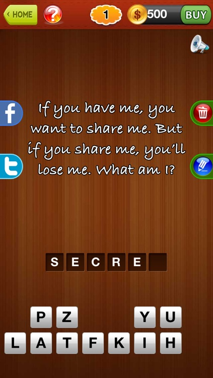 Let´s Guess Riddle ™ reveal what is the riddles from addictive word puzzle quiz game screenshot-0