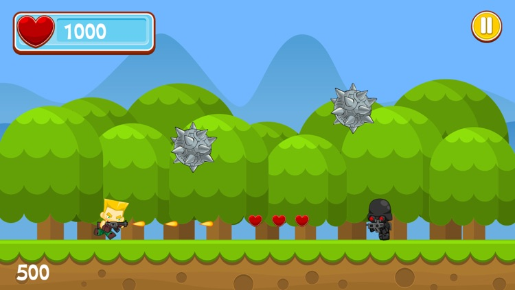 A Jungle Fire Fight – Soldier Battle Jump & Run Fun screenshot-4