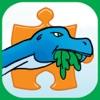 Dinosaur Jigsaw Puzzles Free - Fun Animated Kids Jigsaw Puzzle with HD Cartoon Dinosaurs! - iPhoneアプリ