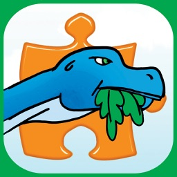 Dinosaur Jigsaw Puzzles Free - Fun Animated Kids Jigsaw Puzzle with HD Cartoon Dinosaurs!