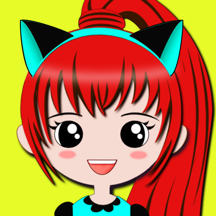Dress Up Games for Free - Kids Games for Girls - Fashion Makeover Beauty Salon in Kawaii Style