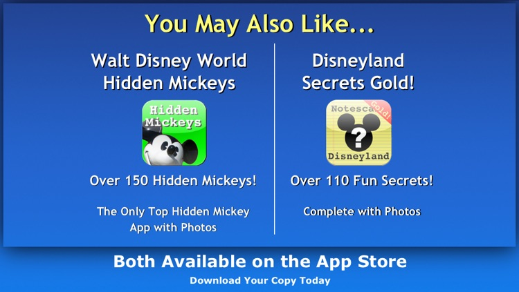 Disney World Secrets Gold! screenshot-4