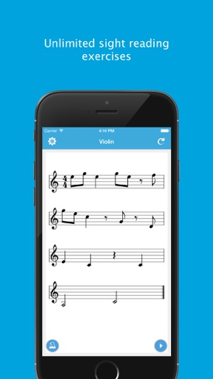 ‎Sight Reading Machine - Practice Music Reading Skill for Guitar, Saxophone  and 20 More Instruments