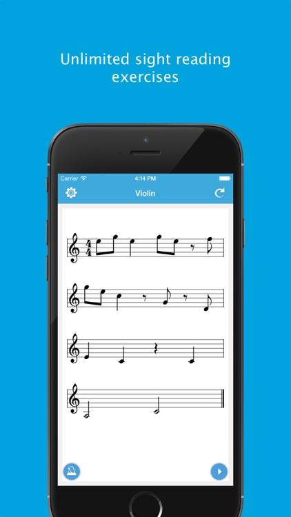 Sight Reading Machine - Practice Music Reading Skill for Guitar, Saxophone and 20 More Instruments