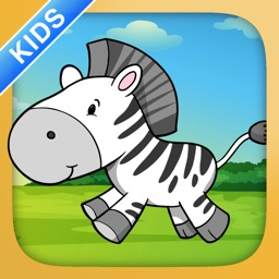 Dot To Dot for Kids and Toddlers - Number Learning Game: African Animals and Farm Edition Full Version