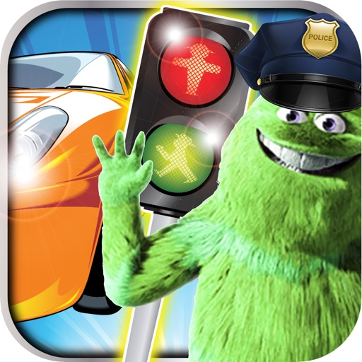 A Police Vs. Traffic PRO - City street chase smash light signals icon