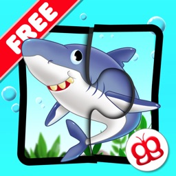 Ocean Jigsaw Puzzle 123 for iPad Free - Word Learning Puzzle Game for Kids