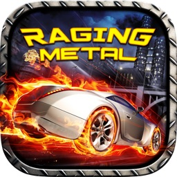 3D RAGING METAL - Stock Car Street Racing Games