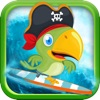 Sully the Pirate Parrot Surfer