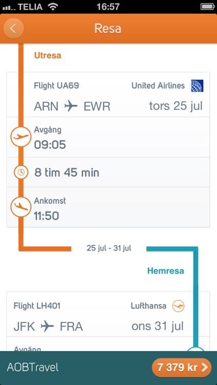 Destination.se - sista minuten, charter och flyg screenshot-3