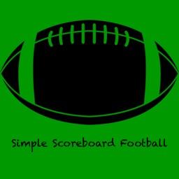 Simple Scoreboard for Football