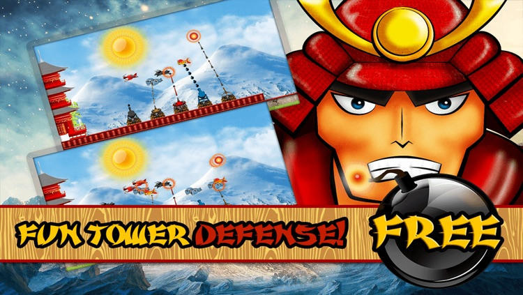 Samurai Clans Clash – Defend The Tower In This Awesome Strategy Shooting Game FREE