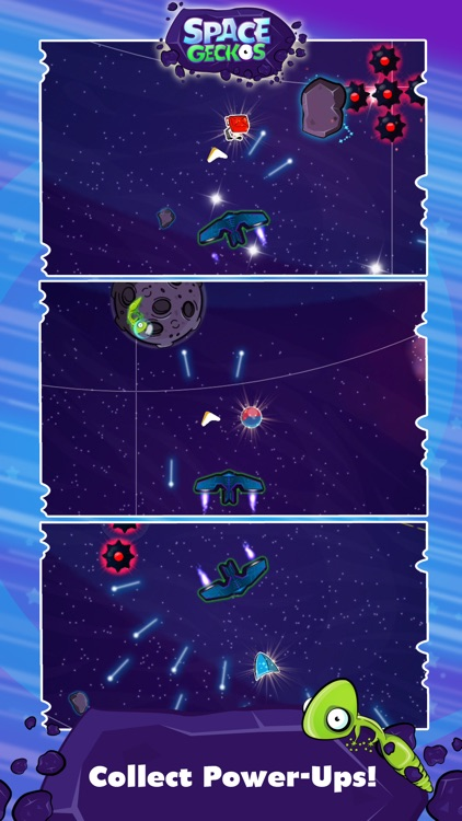 Space Geckos - The Rescue Mission screenshot-3