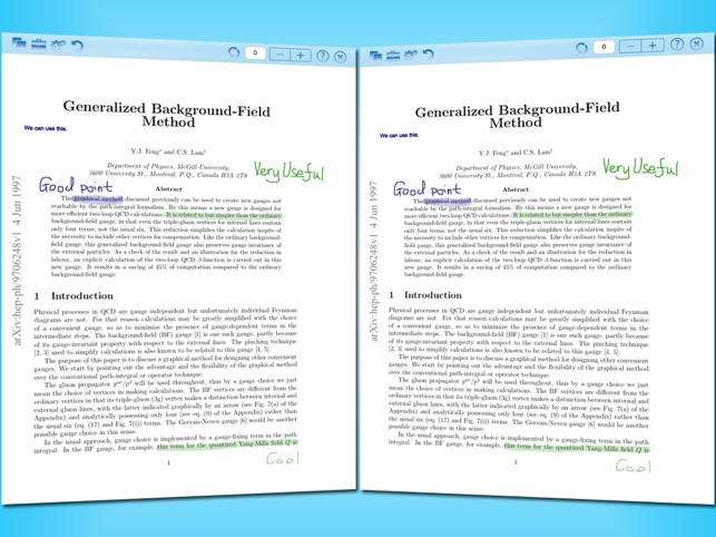annotate pdf documents on ipad