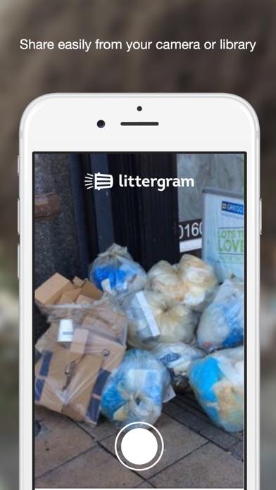 LitterGram screenshot two