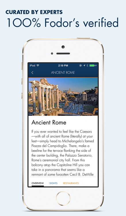 Rome - Fodor's Travel screenshot-1